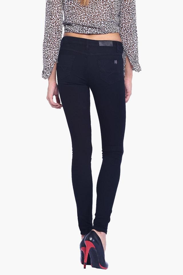 Womens Coated 4 Pocket Jeans