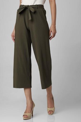 FRATINI -  OliveTrousers & Pants - Main