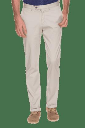 BLACKBERRYSMens Slim Fit Solid Chinos - 200889339