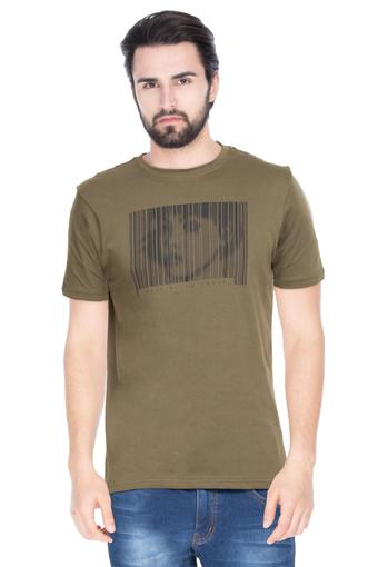 STOP -  Olive T-shirts - Main