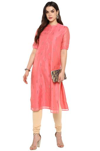 KASHISH -  Coral Kurtas - Main