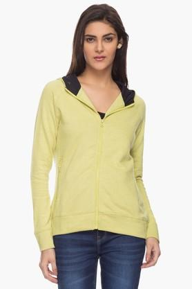 LIFEWomens Zippered Hooded Sweatshirt