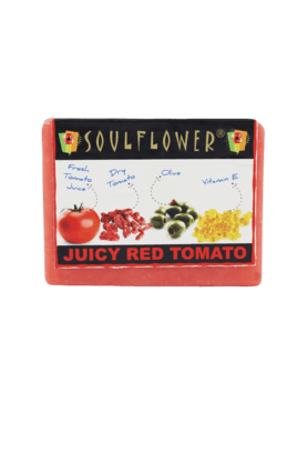 SOULFLOWER Juicy Red Tomato - Soap