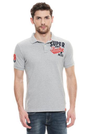 SUPERDRY -  GreyT-Shirts & Polos - Main