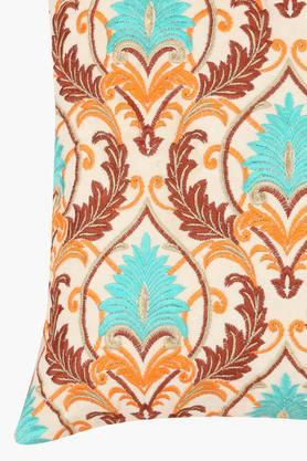 Square Traditional Embroidered Cushion Cover