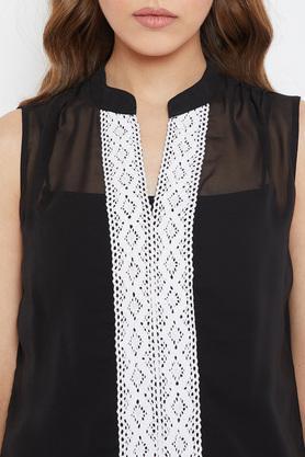 Womens Ruffled Collar Floral Printed Midi Dress