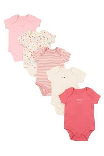 MOTHERCARE -  Dark PinkBabysuits - Main