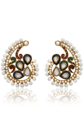 ZAVERI PEARLS Exclusive Traditional Bollwood Drop Earring - ZPFK1161