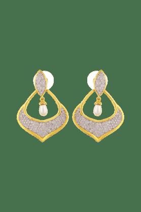TUANGold Plated Dangle & Drop Earring For Women. -IER-485