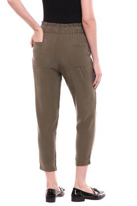 KRAUS - OliveTrousers & Pants - 1