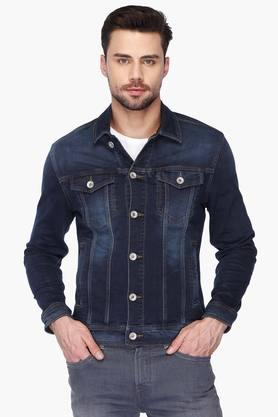 FLYING MACHINE Mens Collared Slim Fit Assorted Jacket