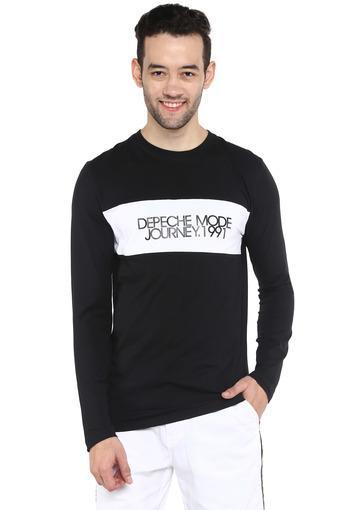 OCTAVE -  BlackT-Shirts & Polos - Main
