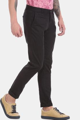 AEROPOSTALE - Black Casual Trousers - 3