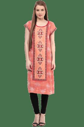 FUSION BEATSWomens Printed Dress
