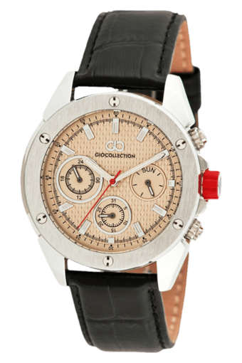 White Dial Mens Watch - G1001-02