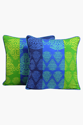 Printed Cushion Cover (Set Of 2)