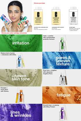 Clinique iD: Dramatically Different Moisturizing Lotion + Active Cartridge Concentrate for Fatigue