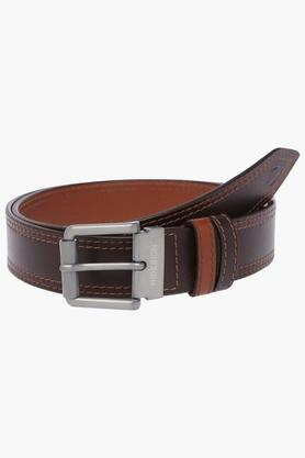 HIDESIGN Mens Leather Adrian Leather Belt