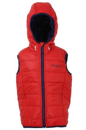Boys Hooded Neck Quilted Jacket