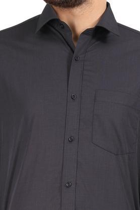 STOP - CharcoalFormal Shirts - 4