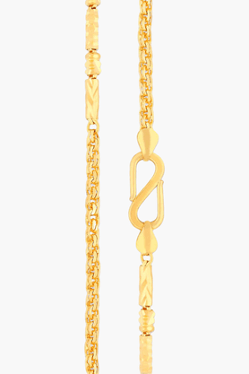 MALABAR GOLD AND DIAMONDS Mens 22 KT Gold Chain - 201391246