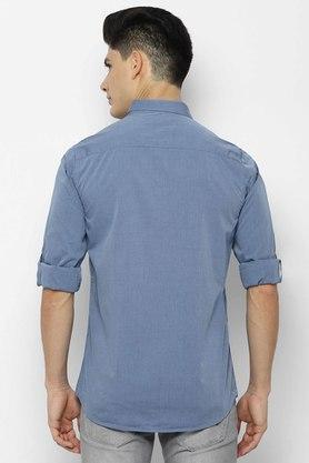 ALLEN SOLLY - Light BlueCasual Shirts - 1