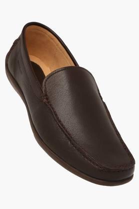 Woodland Formal Shirts (Men's) - Mens Leather Slipon Formal Shoes