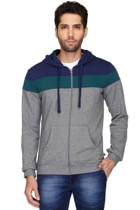 UNITED COLORS OF BENETTON Mens Regular Fit Colour Block Sweatshirt