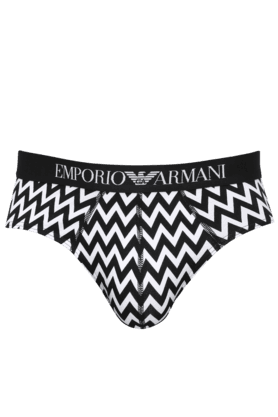 ARMANI INNERWEAR Mens Cotton Stripe Briefs