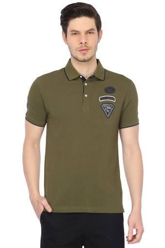BEING HUMAN -  OliveT-shirts - Main