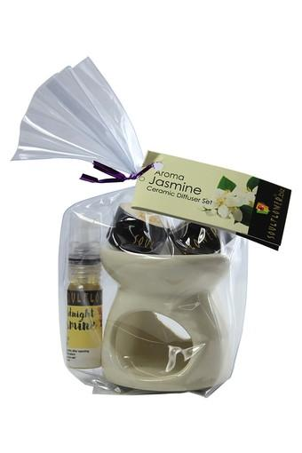 Midnight Jasmine Candle Diffuser Set - 5 ml