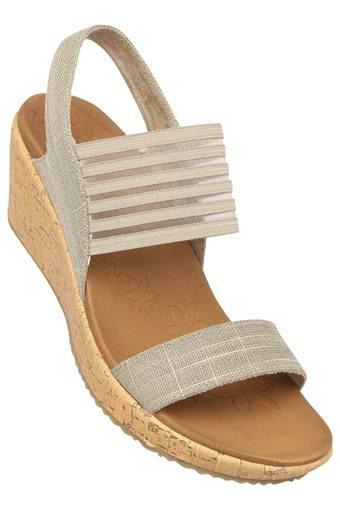 SKECHERS -  Taupe Platform & Wedges - Main