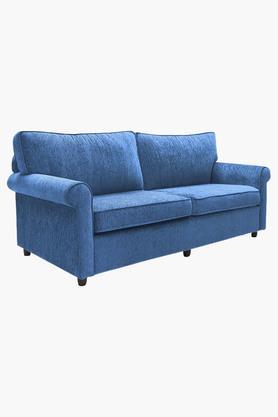 Persian Blue Fabric Sofa (3 - Seater)
