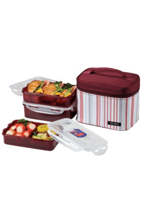 LOCK & LOCK Lunch Box - 3 Pieces