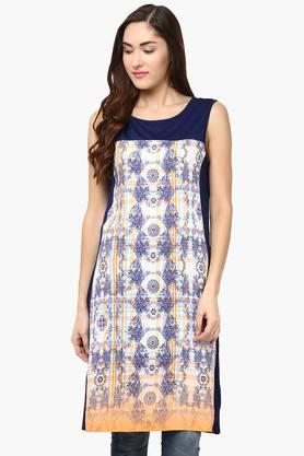 109F Women Shift Viscose Dress