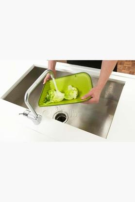 Plastic Rinse and Chop Folding Chopping Board