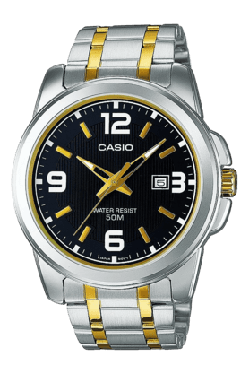 CASIO Mens Analogue Round Dial Watch-A777
