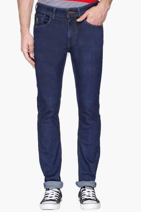 U.S. POLO ASSN. DENIMMens Skinny Fit Rinse Wash Jeans (Regallo Fit)