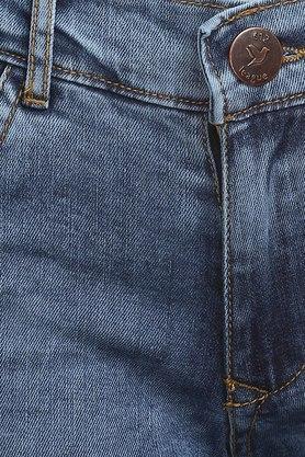 Girls 5 Pocket Rinse Wash Jeans