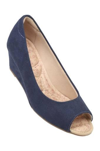 MODARE -  Navy Platform & Wedges - Main