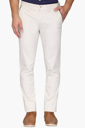 LOUIS PHILIPPE SPORTS Mens Slim Fit 4 Pocket Solid Chinos ( Steven Tapered) - 202009665