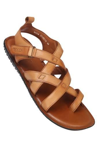 WOODLAND -  Tan Sandals & Floaters - Main