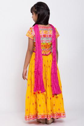 BIBA GIRLS - YellowIndianwear - 1