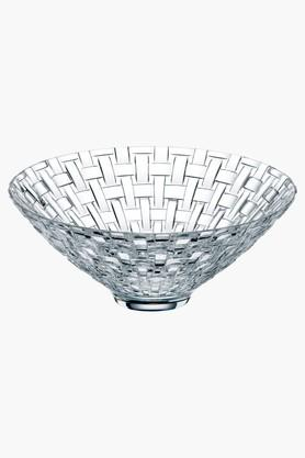 NACHTMANN Crystal Footed Serving Bowl- 15 Cms Set Of 2