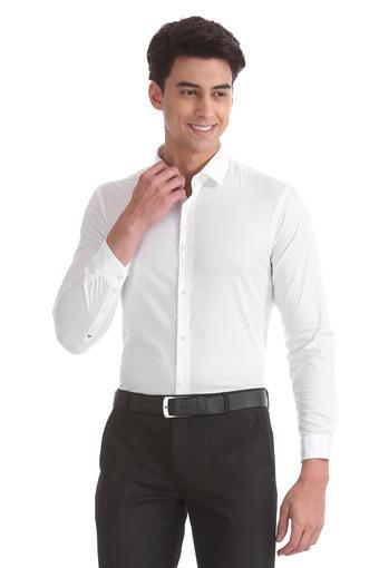 ARROW NYC -  WhiteFormal Shirts - Main