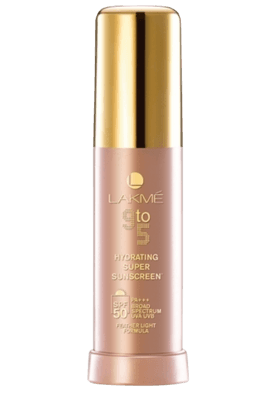 LAKME 9 To 5 Hydrating Super Sunscreen + Spf 50 Pa +++