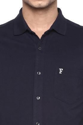 FCUK - BlueCasual Shirts - 4