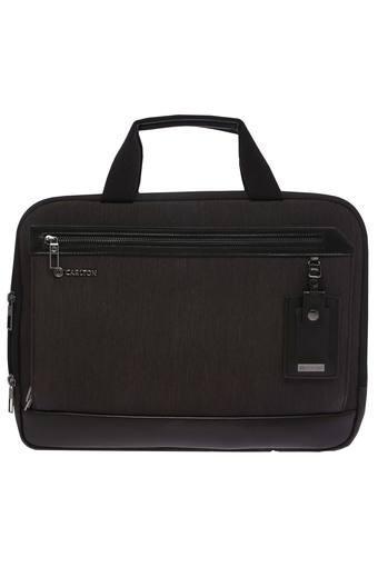 Unisex 2 Compartment Zip Closure Laptop Bag