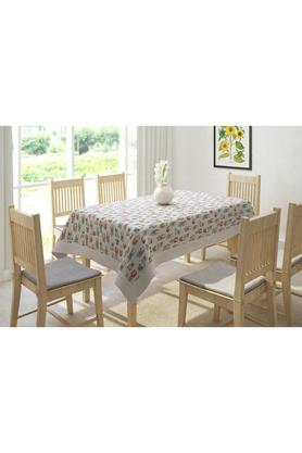 Cactus Printed Table Cover for 6 Seater