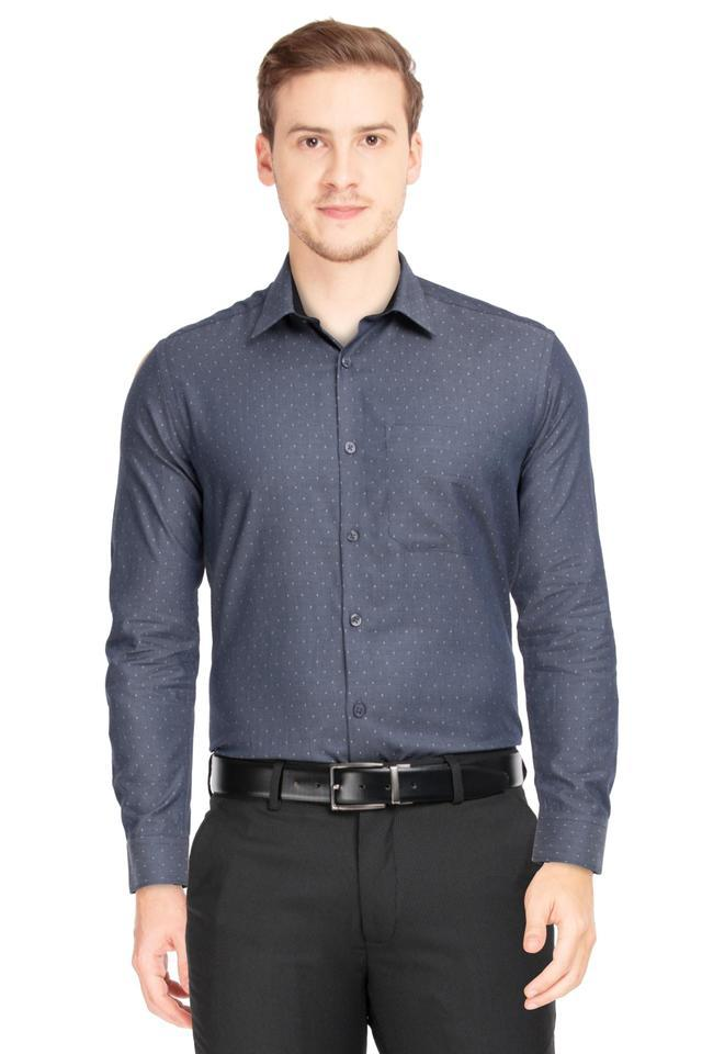 STOP - Dark GreyFormal Shirts - Main